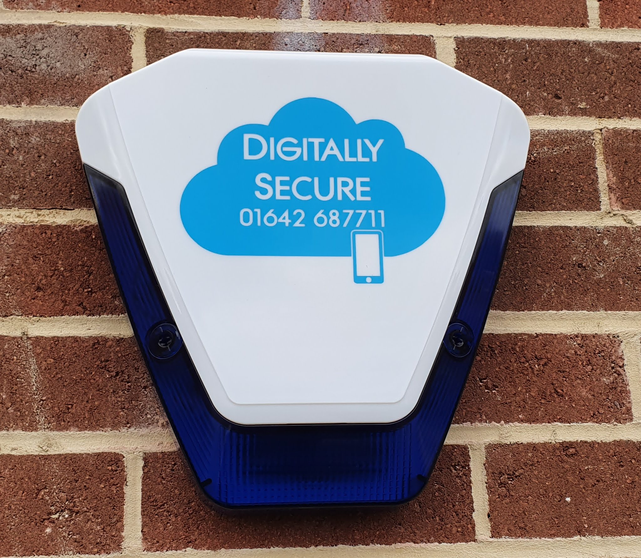 Picture of Digitally Secure Sounder on a wall